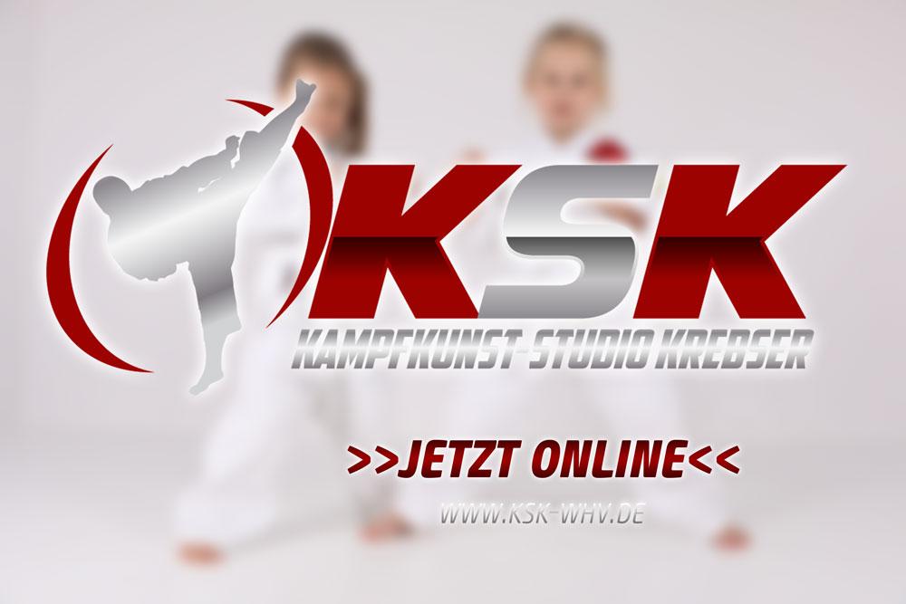 KSK mit neuen Seiten online – Kampfkunst-Studio Krebser